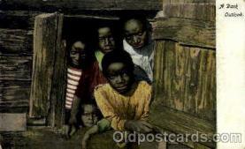 bla001547 - A dark outlook Black, Blacks Post Card Post Card