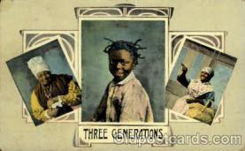 bla001554 - Black, Blacks Post Card Post Card