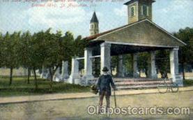bla001557 - Old Slave Market, St.Augustine, Florida, USA Black, Blacks Post Card Post Card