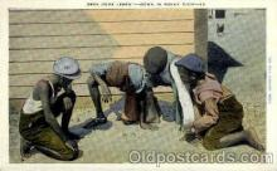bla001575 - Down in sunny dixie -13 Black, Blacks Post Card Post Card