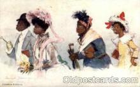 bla001647 - Artist Frances Brundage Black, Blacks Postcard Post Card