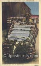 bla050171 - Bales of Cotton Old Vintage Antique Postcard Post Card