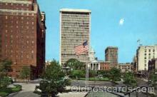 bnk001009 - The New Hartford National Bank Building, Hartford Connecticut, USA Postcard Post Card