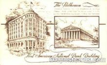 bnk001018 - First American National Bank Building, Nashville, Tennessee, USA Postcard Post Card