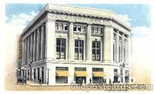 bnk001033 - Grand Rapids, Michigan, USA National City Bank, City Trust and Savings Bank Associated Campau Square, Postcard Post Card