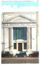bnk001041 - The Pougheepsie Savings Bank, Poughkeepsie, New York, USA Postcard Post Card
