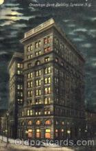 bnk001049 - Onondaga Bank Building, Syracuse, New York, USA Postcard Post Card