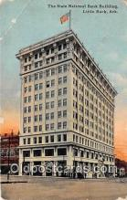 bnk001074 - State National Bank Building Little Rock, Arkansas, USA Postcard Post Card