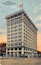 bnk001079 - State National Bank Building Little Rock, Arkansas, USA Postcard Post Card