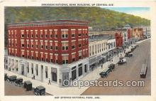 bnk001081 - Arkansas National Bank Building Hot Springs National Park, Arkansas, USA Postcard Post Card