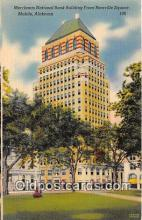 bnk001088 - Merchants National Bank Building Bienville Square, Mobile, Arizona, USA Postcard Post Card