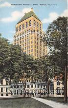 bnk001091 - Merchants National Bank Mobile, Alabama, USA Postcard Post Card