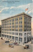 bnk001108 - Citizens National Bank Building Kokomo, Indiana, USA Postcard Post Card
