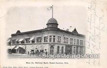 bnk001157 - Mesa Co National Bank Grand Junction, Colorado, USA Postcard Post Card