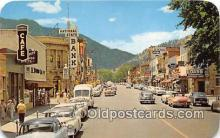 bnk001159 - National State Bank, Pearl Street Boulder, Colorado, USA Postcard Post Card