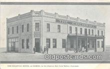 bnk001161 - Colonial Hotel, Romeo State Bank San Luis Valley, Colorado, USA Postcard Post Card