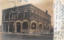 bnk001193 - Real Photo Williamsburg Savings Bank Iowa, USA Postcard Post Card