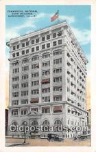 bnk001206 - Commercial National Bank Building Shreveport, LA, USA Postcard Post Card