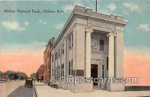 bnk001222 - Abilene National Bank Abilene, Kansas, USA Postcard Post Card