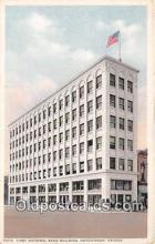 bnk001225 - First National Bank Building Hutchinson, Kansas, USA Postcard Post Card