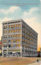 bnk001227 - New England Building, Merchants National Bank Topeka, Kansas, USA Postcard Post Card