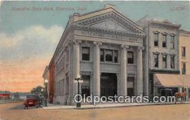 bnk001246 - Muscatine State Bank Muscatine, Iowa, USA Postcard Post Card