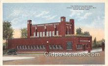 bnk001252 - Peoples Savings Bank Cedar Rapids, Iowa, USA Postcard Post Card