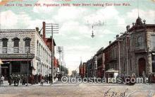 bnk001256 - State Street, First National Bank Mason City, Iowa, USA Postcard Post Card
