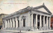 bnk001257 - Iowa State National Bank Sioux City, Iowa, USA Postcard Post Card