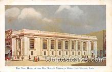 bnk001261 - New Home of the Des Moines National Bank Des Moines, Iowa, USA Postcard Post Card