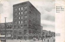 bnk001268 - Security Bank Building Sioux City, Iowa, USA Postcard Post Card