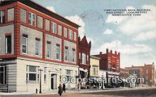 bnk001274 - First National Bank Building Manchester, Iowa, USA Postcard Post Card