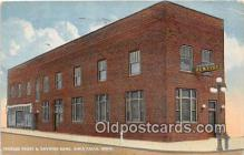 bnk001290 - Peoples Trust & Savings Bank Iowa Falls, Iowa, USA Postcard Post Card