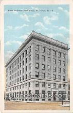 bnk001297 - First National Bank Building Fort Dodge, Iowa, USA Postcard Post Card