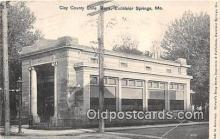 bnk001311 - Clay County State Bank Excelsior Springs, MO, USA Postcard Post Card