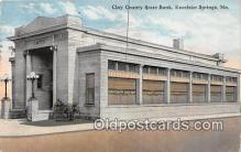 bnk001317 - Clay County State Bank Excelsior Springs, MO, USA Postcard Post Card