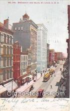 bnk001319 - Broadway & Olive St Louis, USA Postcard Post Card