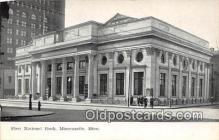 bnk001325 - First National Bank Minneapolis, Minn, USA Postcard Post Card