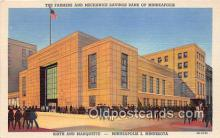 bnk001334 - Farmers & Mechanics Savings Bank of Minneapolis Minneapolis, Minn, USA Postcard Post Card