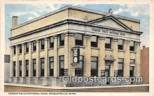bnk001337 - Fergus Falls National Bank Fergus Falls, Minn, USA Postcard Post Card