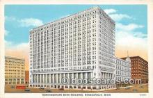 bnk001338 - Northwestern Bank Building Minneapolis, Minn, USA Postcard Post Card