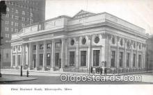 bnk001339 - First National Bank Minneapolis, Minn, USA Postcard Post Card