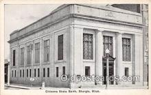 bnk001367 - Citizens State Bank Sturgis, Mich, USA Postcard Post Card