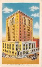 bnk001374 - Second National Bank Saginaw, Mich, USA Postcard Post Card