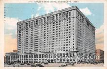 bnk001401 - Union Trust Building Cleveland, Ohio, USA Postcard Post Card