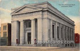 bnk001403 - The Ohio National Bank Columbus, Ohio, USA Postcard Post Card