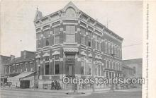 bnk001404 - First National Bank Building Bellaire, Ohio, USA Postcard Post Card