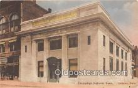 bnk001409 - Champaign National Bank Urbana, Ohio, USA Postcard Post Card