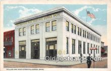 bnk001415 - Miller & Main Streets Akron, Ohio, USA Postcard Post Card