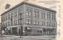 bnk001419 - Commercial Bank & Post Office Uhrichsville, Ohio, USA Postcard Post Card